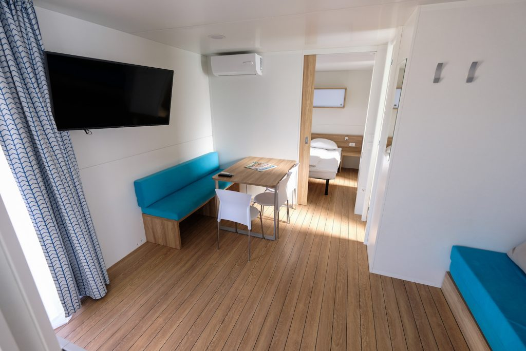 Camping Terme Catez. Mobile home.