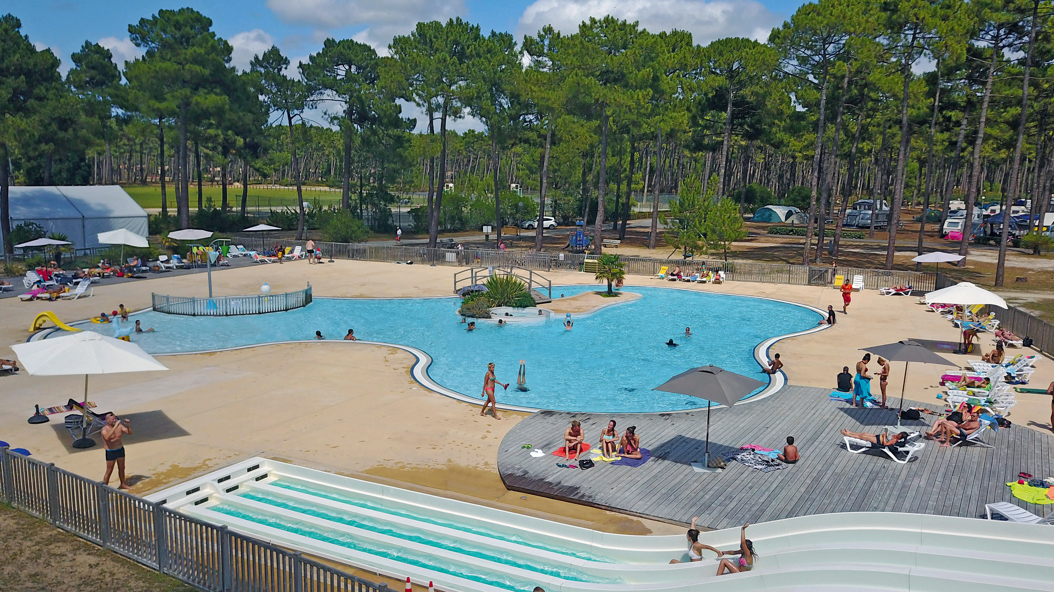 Camping Medoc - Plage