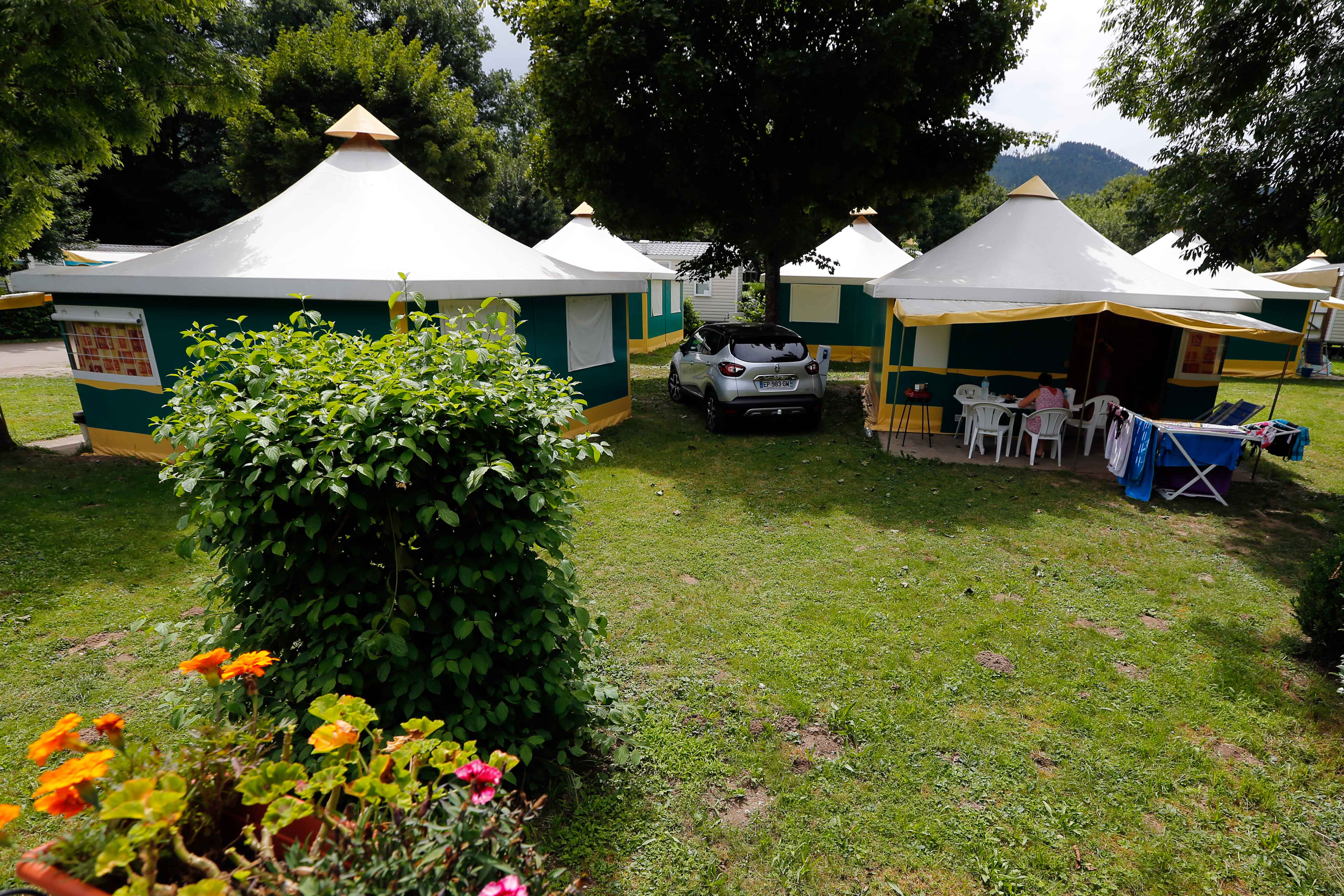 Camping Le Giessen domki