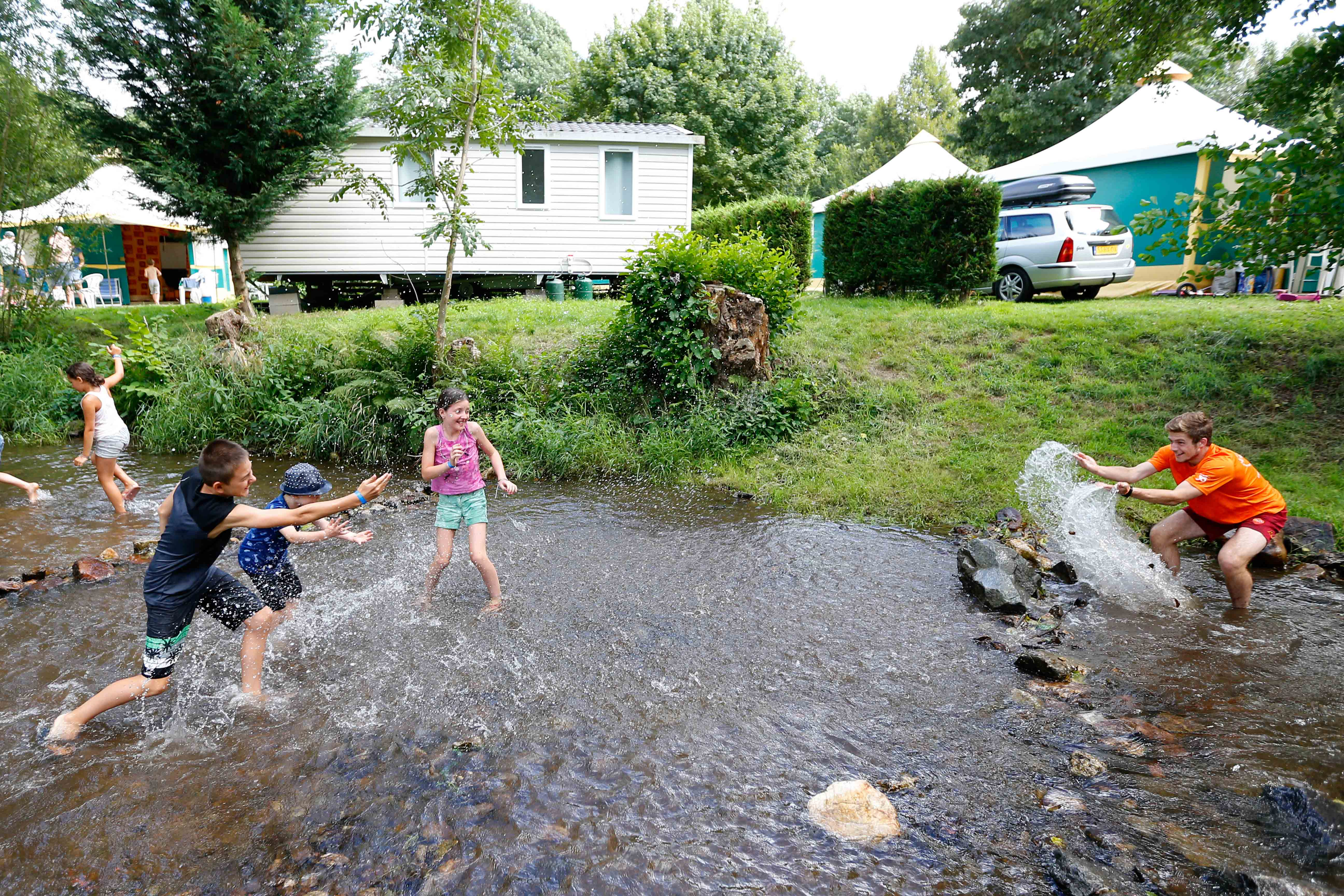 Camping Le Giessen udogodenienia