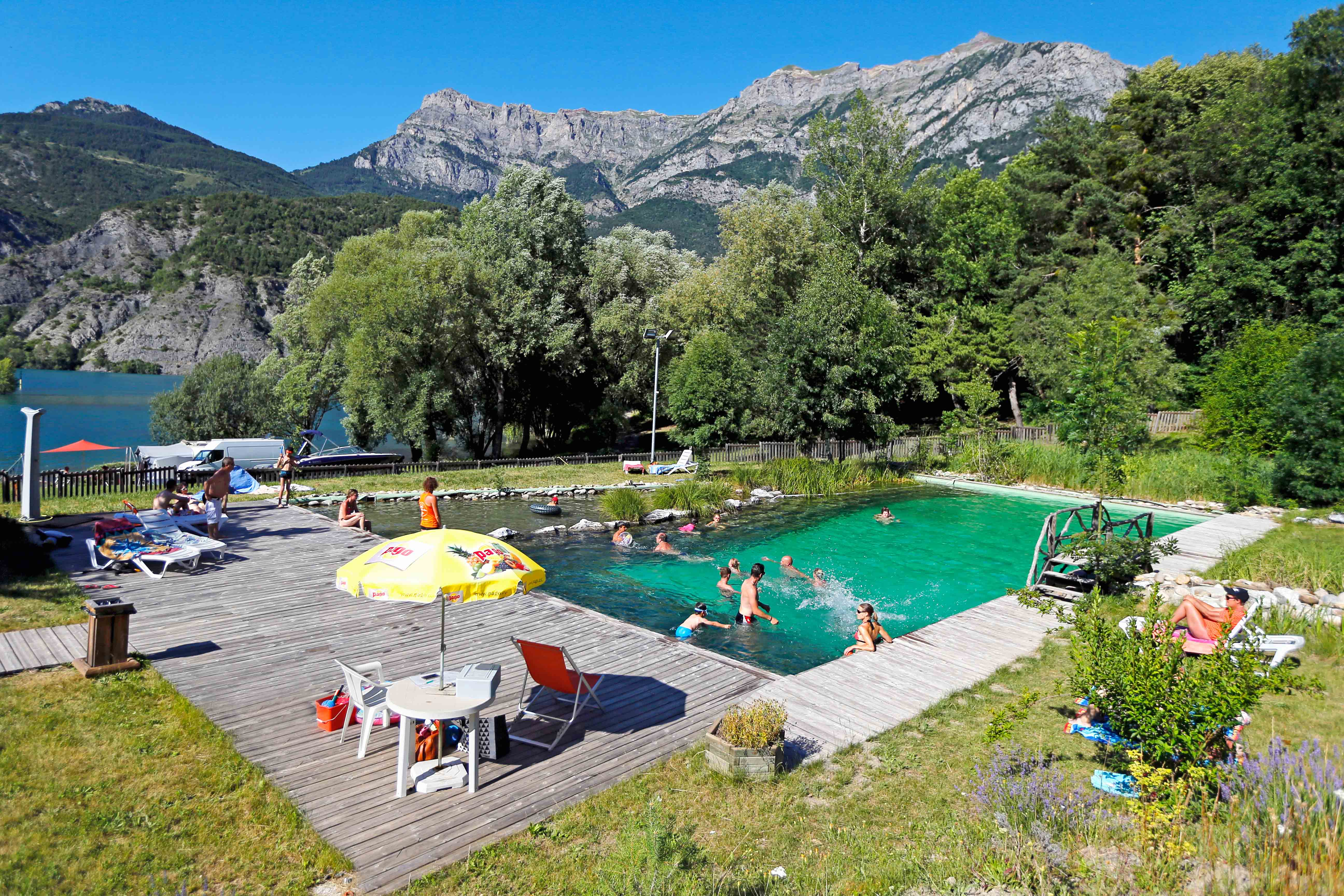 basen Camping Le Lac