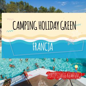camping holiday green